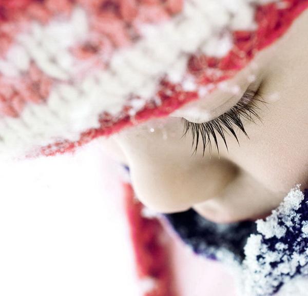 красивые зимние портреты, детская съемка, зимние фотографии