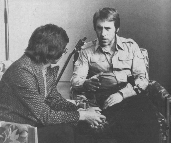 Владимир Высоцкий с В. Перевозчиковым в Пятигорске, 14 сентября 1979 года