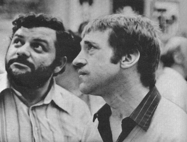 Владимир Высоцкий с В. Нисановым, Москва 1979 г. Фото С. Борисова