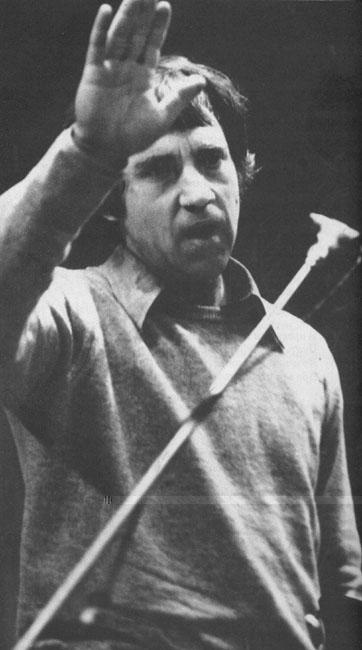 Владимир Высоцкий. Москва, 1980 г. Фото В.Киселева.