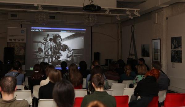 Центр фотографии имени братьев Люмьер, творческая встреча, Сергей Шандин,  рок-фотографы, рок фотография