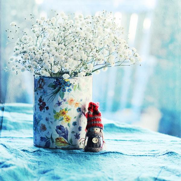 Натююрморт с белыми цветами. Фото: Bebe Mozz