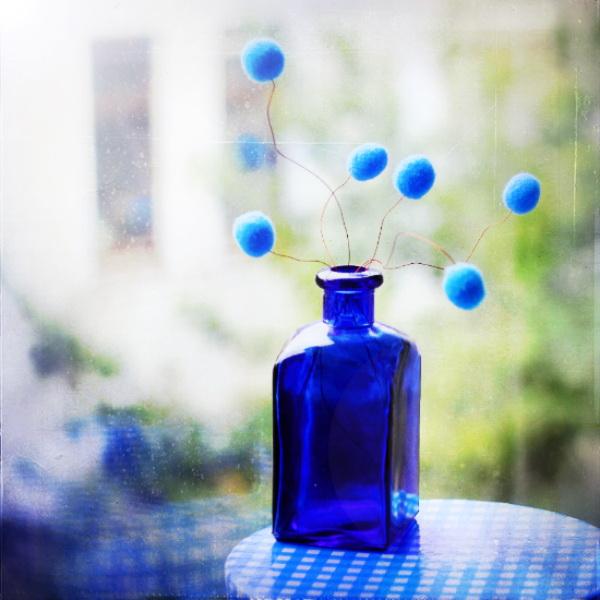 Натюрморт в голубых тонах. Фото: Bebe Mozz