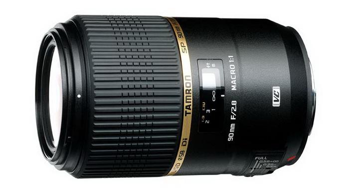 Tamron 90mm f/2.8 SP Di MACRO 1:1 VC USD