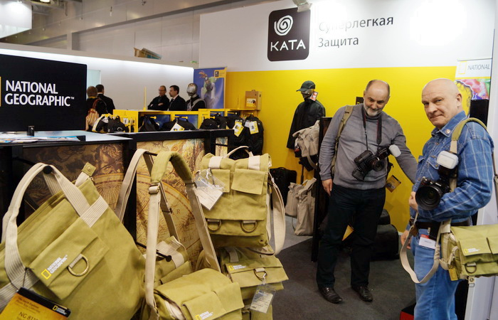 Стенд компании KATA на Фотофоруме-2013