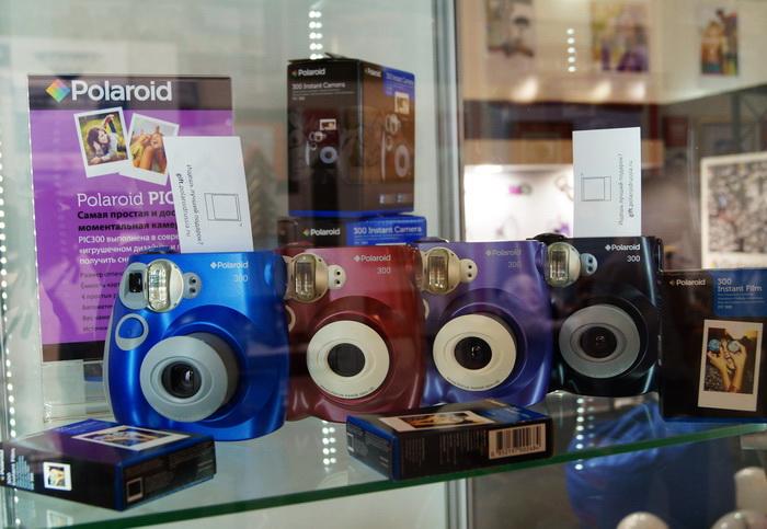 Стенд Polaroid, выставка фотофорум 2013, фотофорум 2013, CONSUMER ELECTRONICS  PHOTO EXPO 2013, Крокус-Экспо, Международная выставка потребительской электроники и фототехники