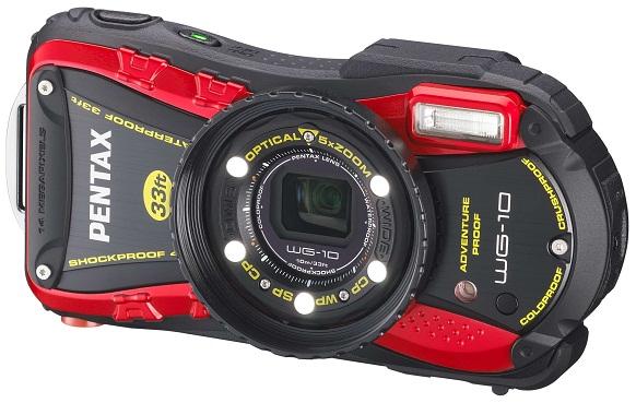 Pentax WG-10. Стенд компании Pentax на Фотофоруме-2013