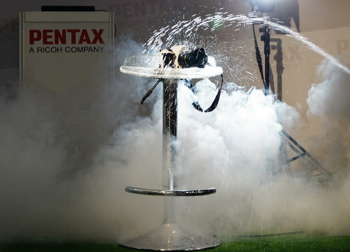 Pentax K-5 II S. Стенд компании Pentax на Фотофоруме-2013