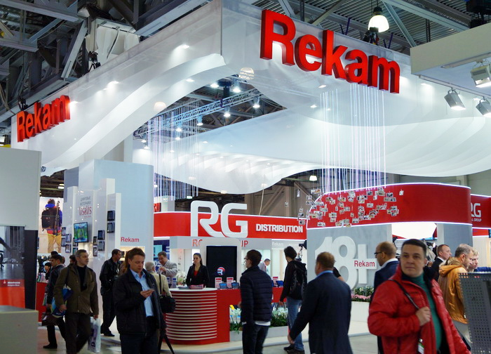 Стенд компании Rekam на Фотофоруме-2013/ Rekam CoolLight 1500 LED