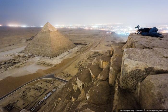 Виталий Раскалов, фото с высоты, фото Египет