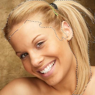 изменить цвет волос на фото, изменить цвет волос в фотошопе