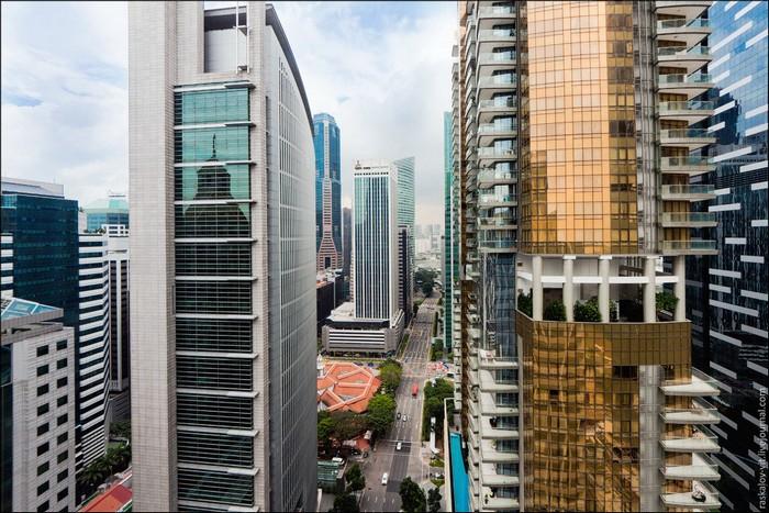 Бизнес-квартал Сингапура. Фото: Виталий Раскалов