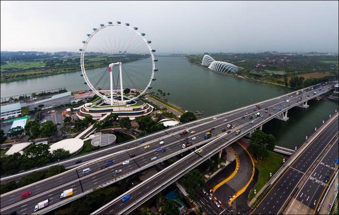 Колесо обозрения Singapore Flyer, Сингапур. Фото: Виталий Раскалов