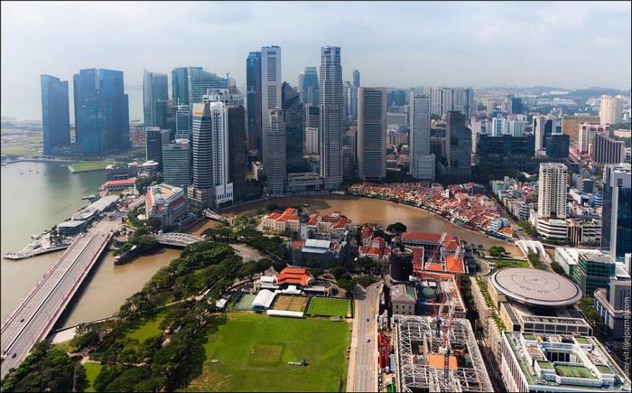 Отель Stamford, Сингапур. Фото Виталия Раскалова