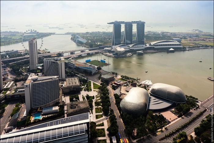 Вид на Сингапур. Фото: Виталий Раскалов