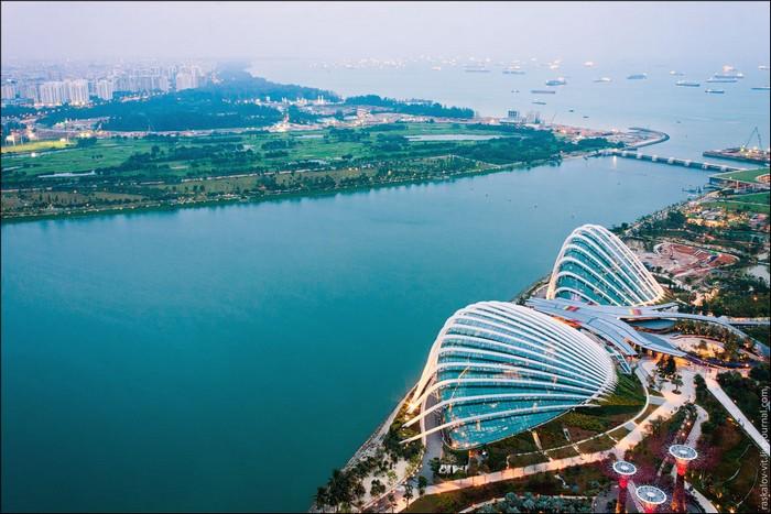 Виталий Раскалов, фото с высоты, Сингапур фото
