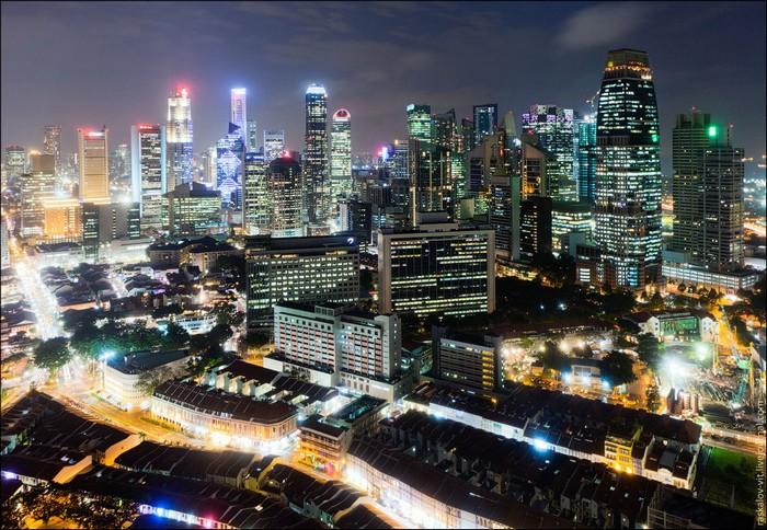 Небоскребы Сингапура. Фото: Виталий Раскалов