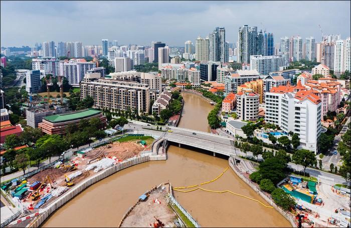 Спальные районы Сингапура. Фото: Виталий Раскалов