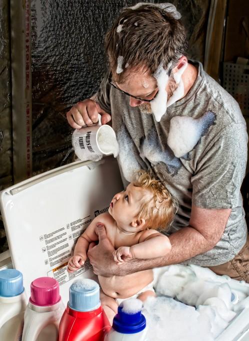 """""""Лучший папа на свете"""" (""""World's Best Father"""") - фотопроект Дейва Энглдау (Dave Engledow)"""