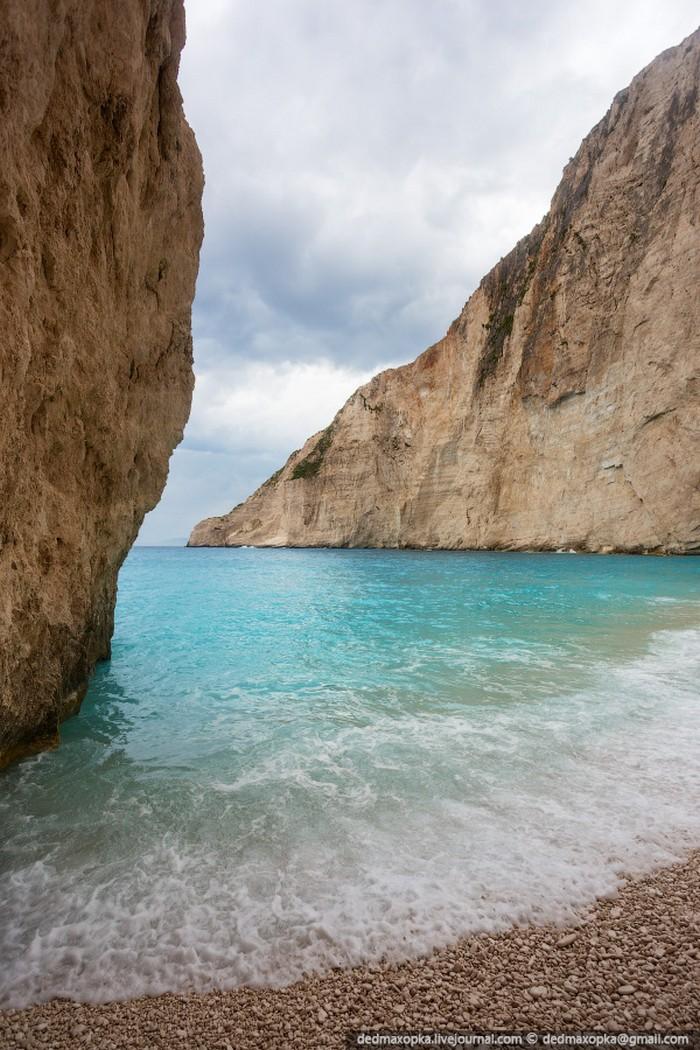Бухта Навагио, Греция. Фото Вадима Махорова