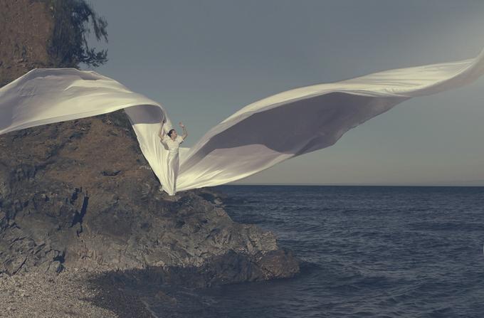 Девушка у моря. Фото: Катерина Плотникова