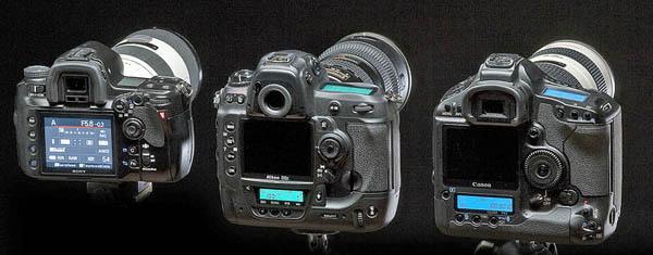 Фотокамеры Canon, Nikon, Sony