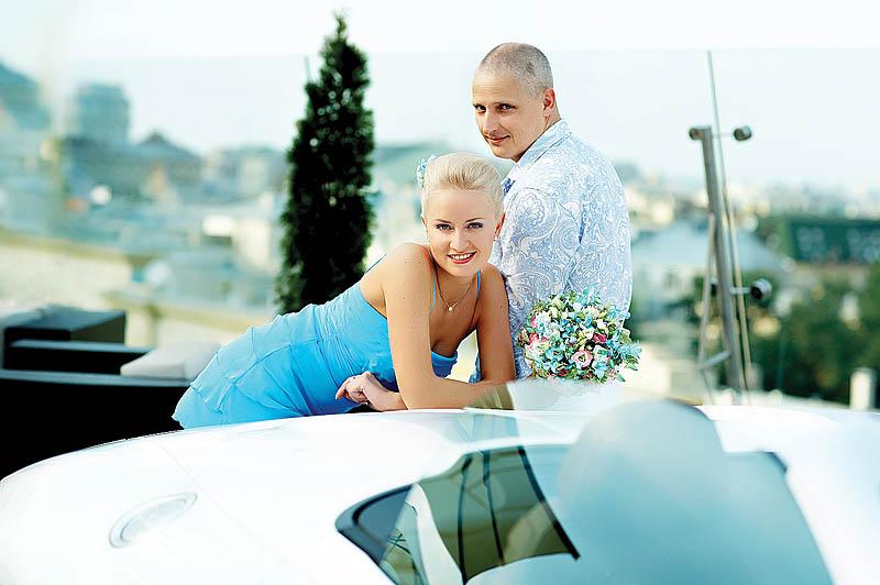 Наталия Никулина. Свадебный день всегда начинается с волнения.