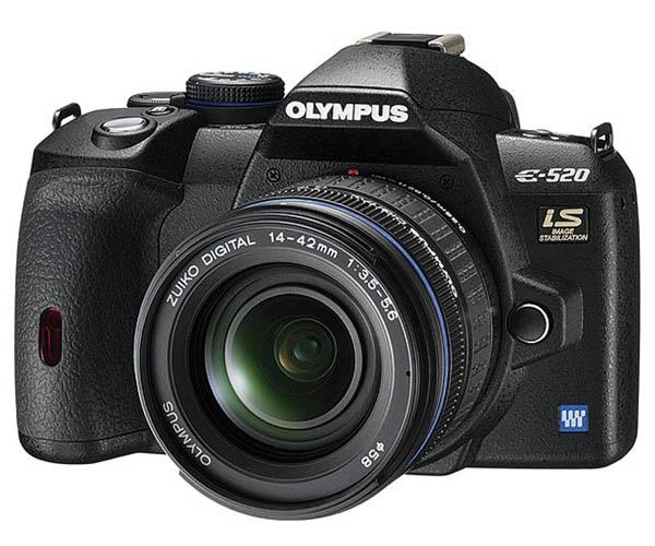 Фотокамера Olympus E-520