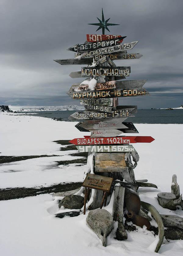 Antarktida - ukazateli