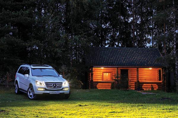 Автопутешествие: Mercedes-Benz GL500