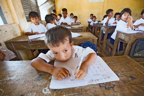 Фототур: Камбоджа - Фотографии бедных районов Камбоджа.