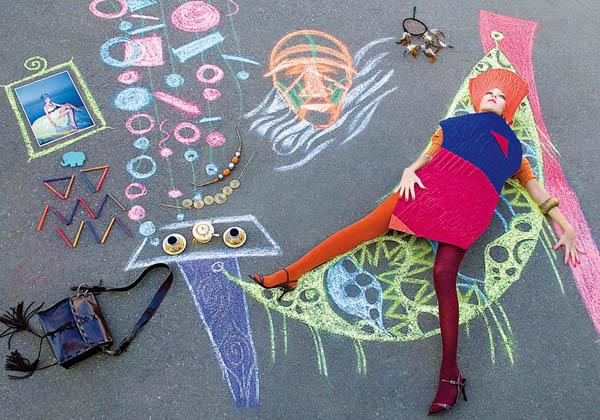 Инна Ершова: портфолио  Фотограф Инна Ершова представляет проект «Бумажные куклы» Paper Dolls, который был снят в сентябре прошлого года. В этом проекте мода выражается через кукольную игру.