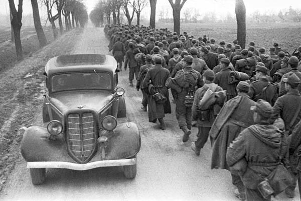 Марк Марков-Гринберг: Отвоевались. Пленные под Бобруйском. 1944
