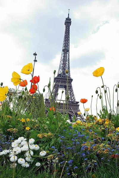 Париж: Эйфелевая башня