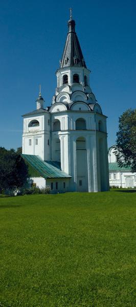 Александров: Распятская церковь-колокольня