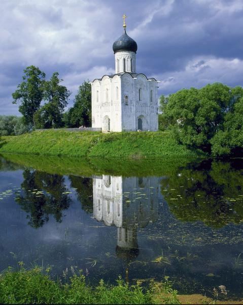 Боголюбово: Церковь Покрова на Нерли