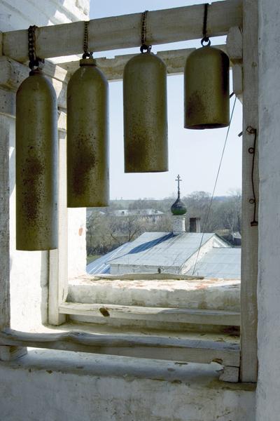 Михайло-Архангельский монастырь, на колокольне