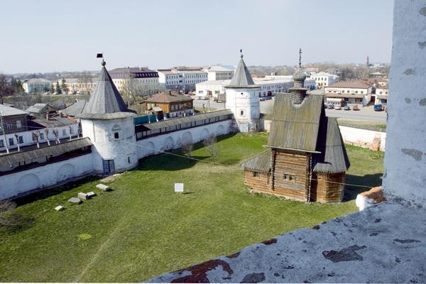 Михайло-Архангельский монастырь, с колокольни