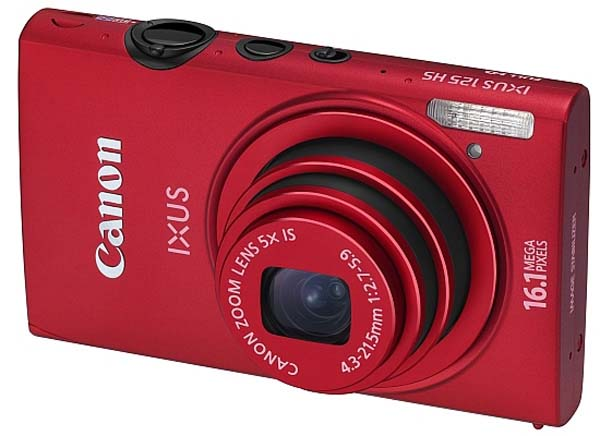 Camera Canon Red Ixus 125 HS