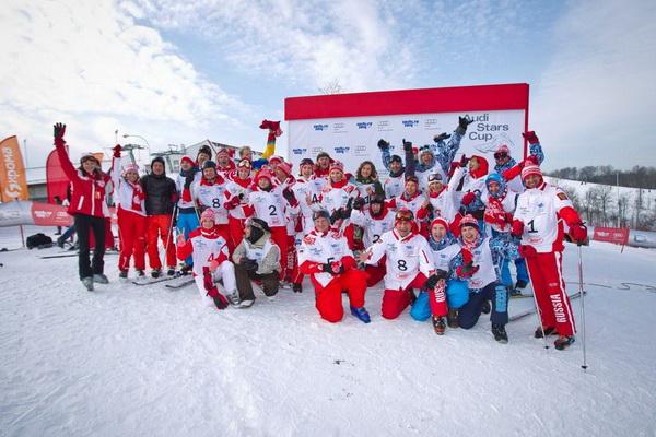 Audi Stars Cup 2012 кубок настоящих чемпионов. Фото российских знаменитостей на лыжах.
