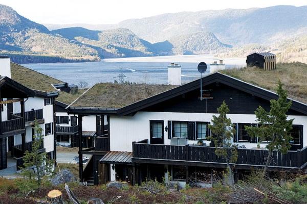 Пейзажи в Норвегии,Горные лыжи в Норвегии. Фото гор в Норвегии, ландшафт Норвегии.