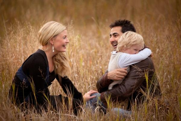 Семейная фотография. Фотограф Андреа Джоки
