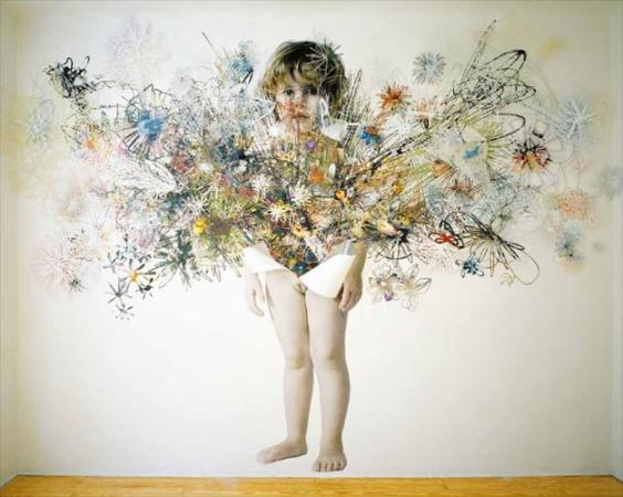 «Тотальная среда» Мэгги Карделус. Примеры семейных фотоальбомов.